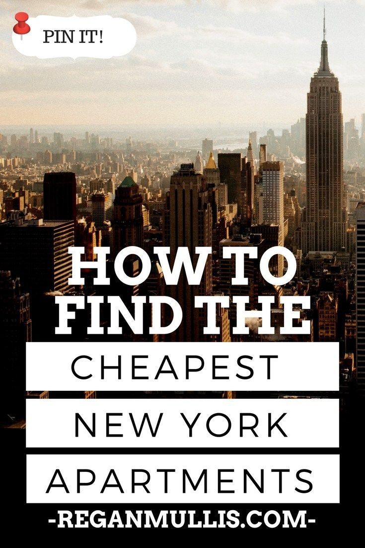 How to Find an Affordable Apartment in New York | Cheapest ...