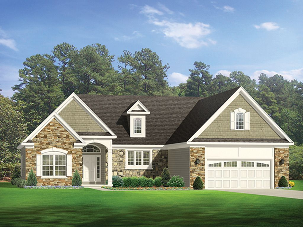 Ranch exterior front elevation plan things to remember