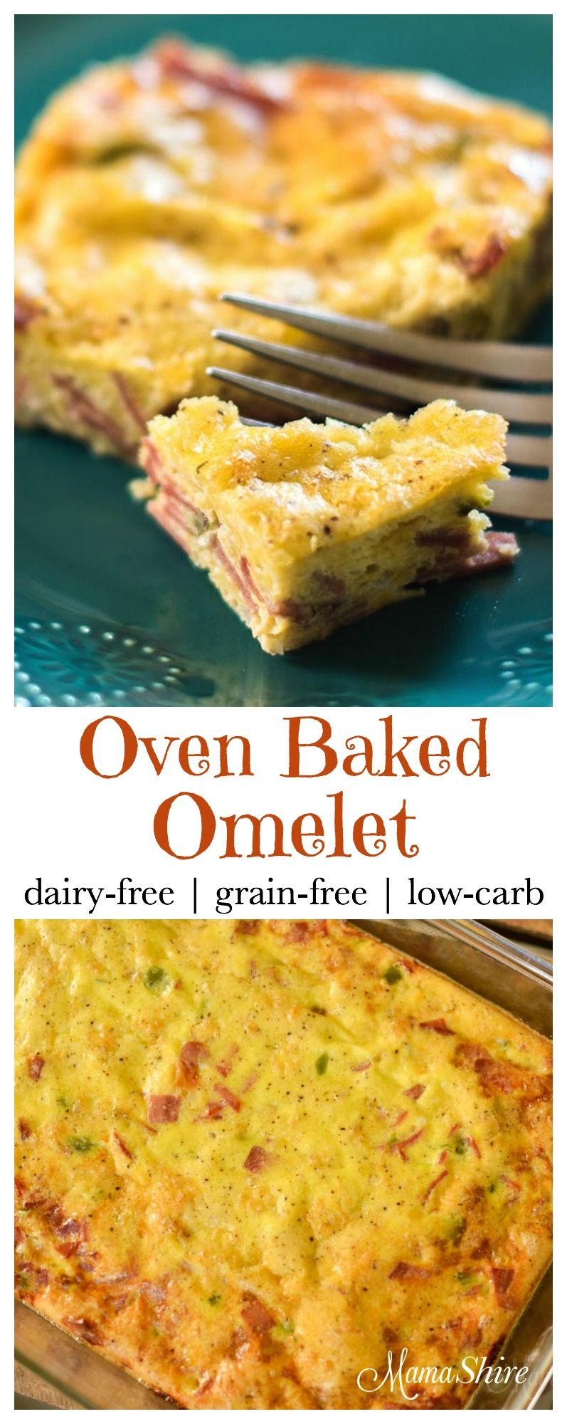 Oven Baked Omelet (Dairy-Free) | Recipe | Sugar Free Mamas | Dairy free breakfasts, Dairy free ...