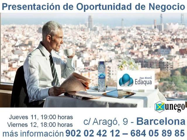Presentación oportunidad de negocio en Barcelona.