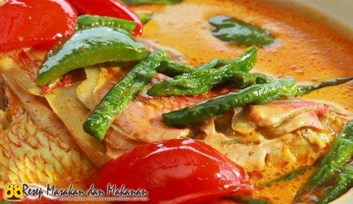 Resep Untuk Membuat Gulai Kepala Ikan Kakap Merah Resep Gulai Lauk Makan Malam