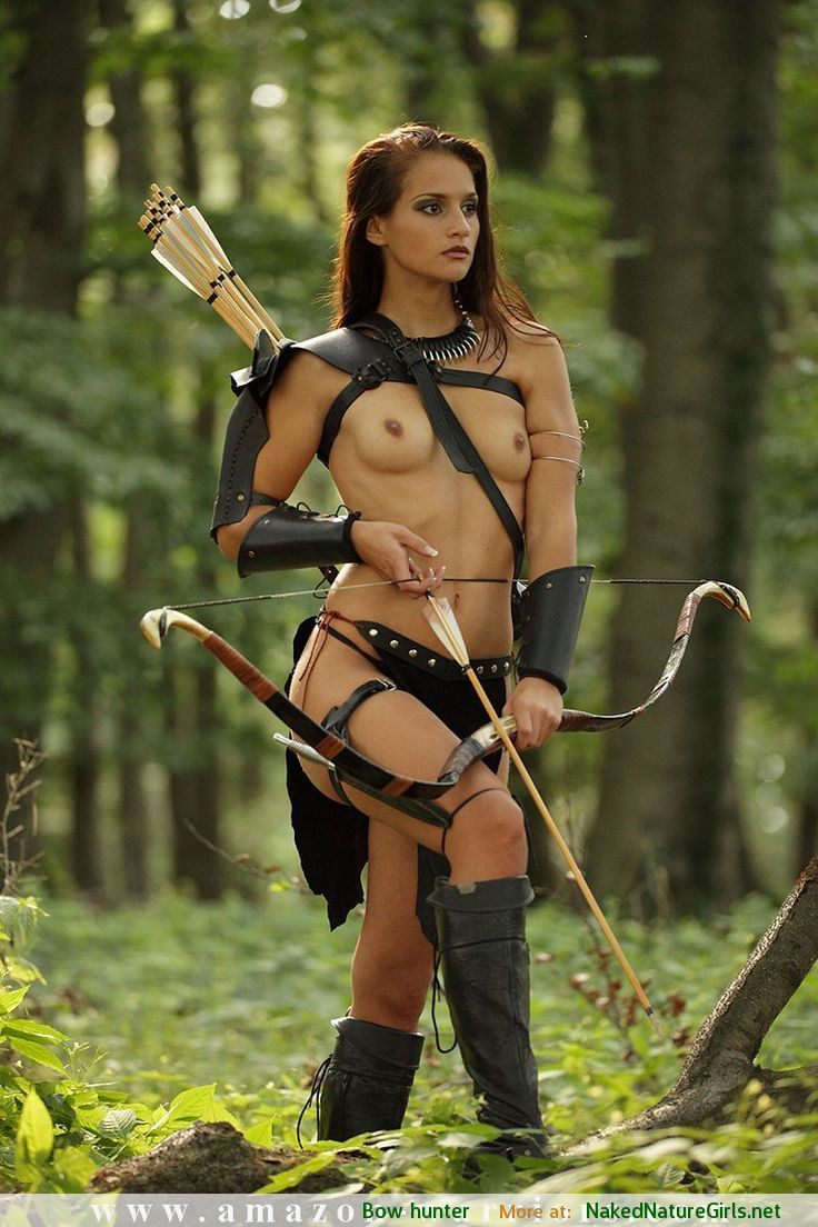 naked warrior women photo