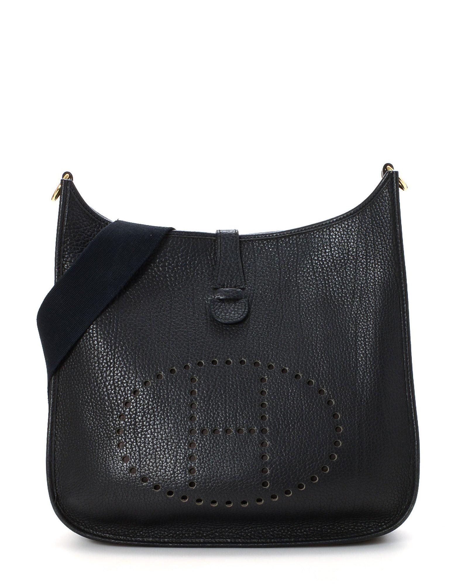 188d9bdd8a65 ... gold brown togo leather crossbody shoulder bag 5509d 0453a best price hermÈs  evelyne iii 33 shoulder bag vintage 3a4ca 05491 ...