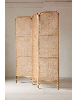 Rattan Screen Room Divider By Urban Outfitters Room Divider Diy