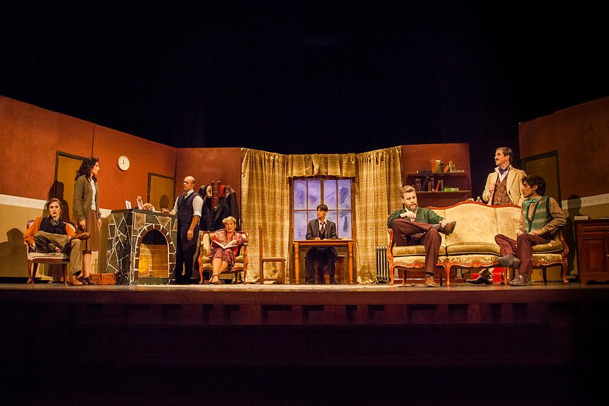 Lunáticos Teatro |  La Ratonera | The Mousetrap | Agatha christie