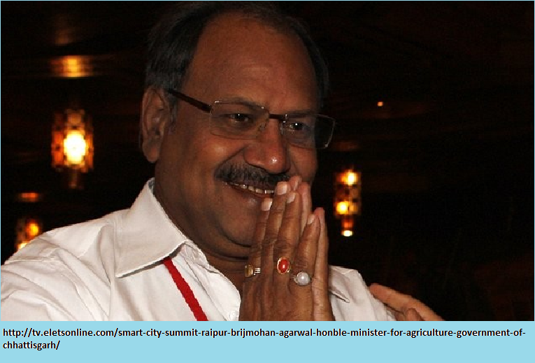 Brijmohan Agarwal Agriculture Minister Brijmohan