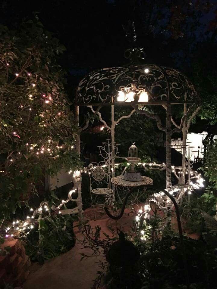 Ginny S Enchanted Garden At Night Moon Garden Enchanted Garden