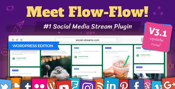 NULLED] Flow-Flow 2 10 15 — WordPress Social Stream Plugin
