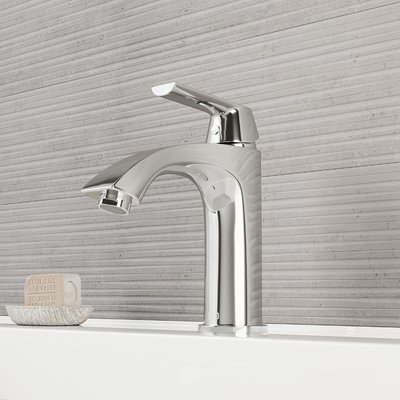 Vigo Penela Single Hole Bathroom Faucet With Optional Drain