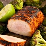 Chili Lime Pork Tenderloin