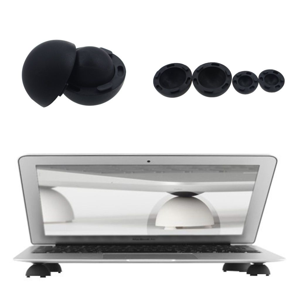 Super Mini Silicone Stand Cooling Ball Cooler For Mackbook Laptop