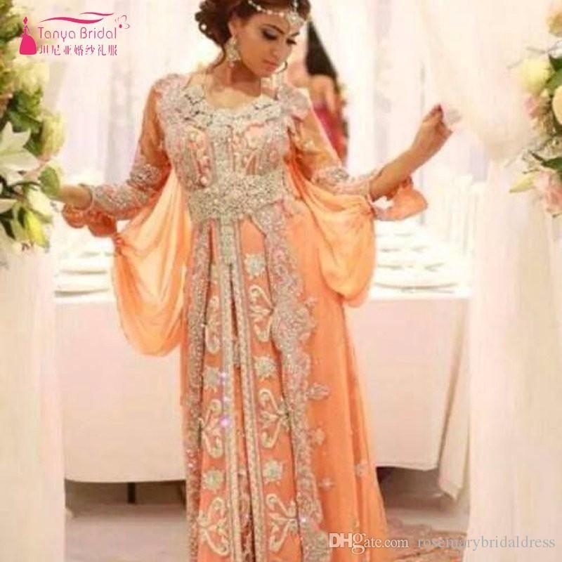 Luxury Caftan Marocain Islamic Abaya in Dubai Evening Dress Long Sleeve  Prom Gowns Moroccan Kaftan New Arrrival Real Dress Evening Dress Formal  Dress Event ... a79ab635a59a