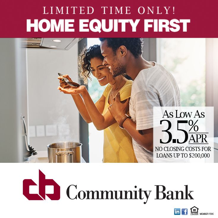 Community bank home equity first in 2020 home equity
