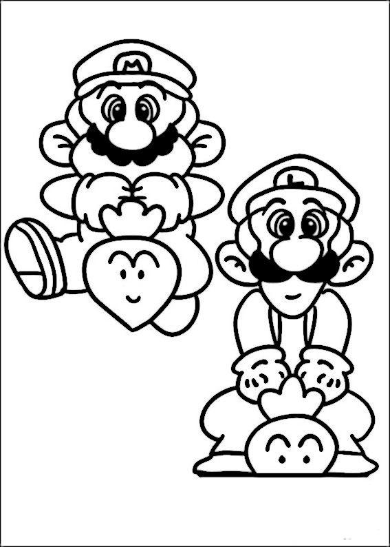 dibujos para colorear mario bross 24