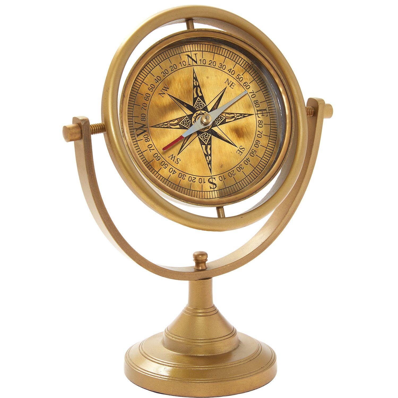 Hamraz Brass Tone Compass Ornament Tk Maxx Compasshome Accessorieschristmas