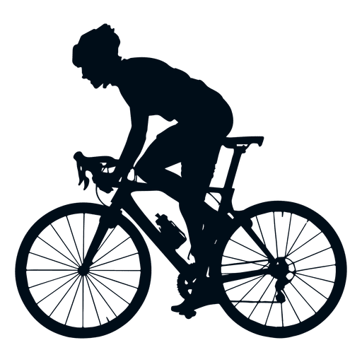 Cyclist Silhouette Side View Ad Ad Ad Silhouette Side View Cyclist Bicycle Printable Bike Art Silhouette