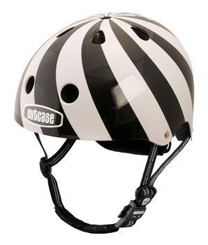 Nutcase Helmet Hypnotic Love This Black And White Design