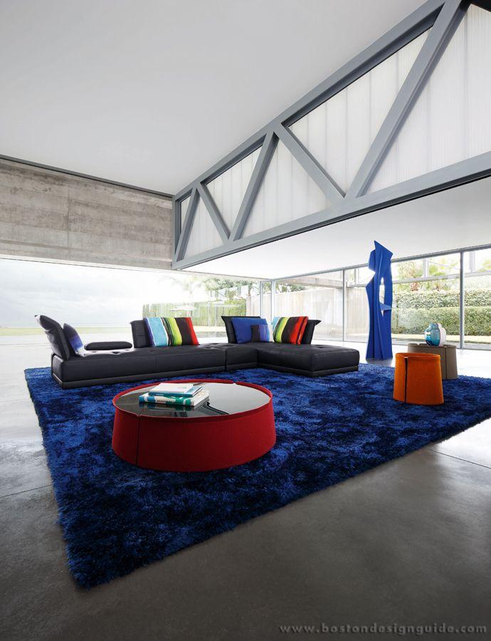 roche bobois contemporary interior design in boston natick ma