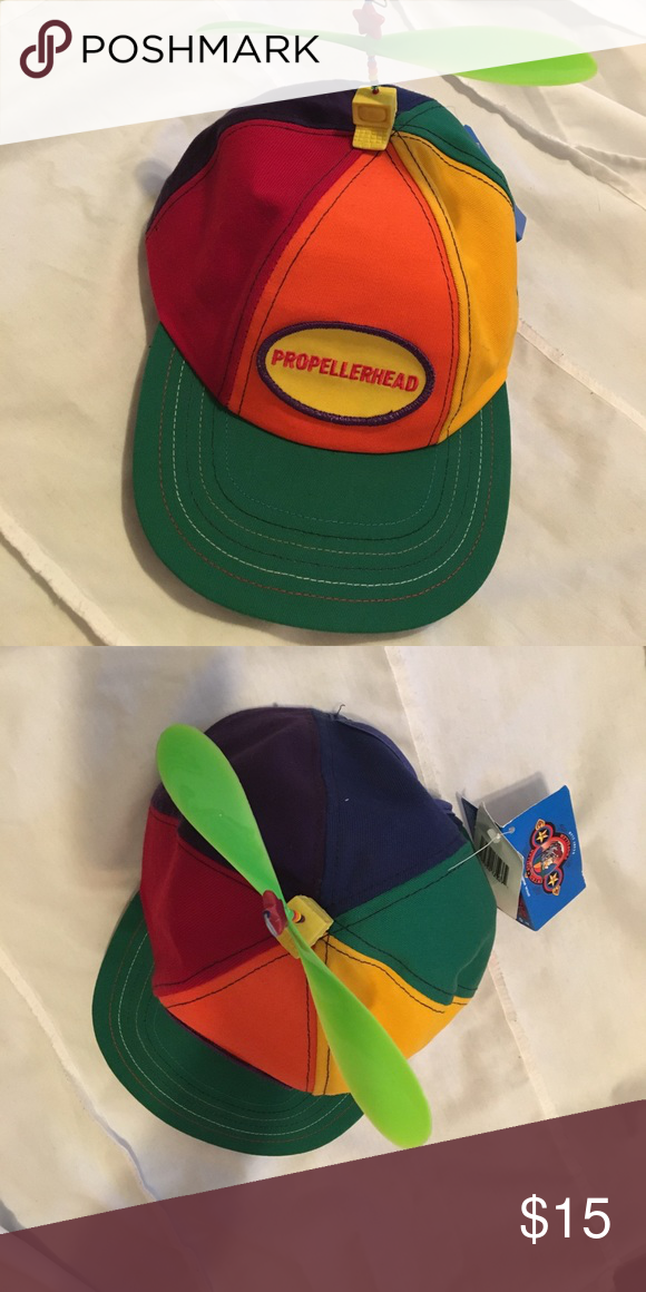 f9436896a Cute multicolored propeller hat Brand new with tags!! Any kid would ...
