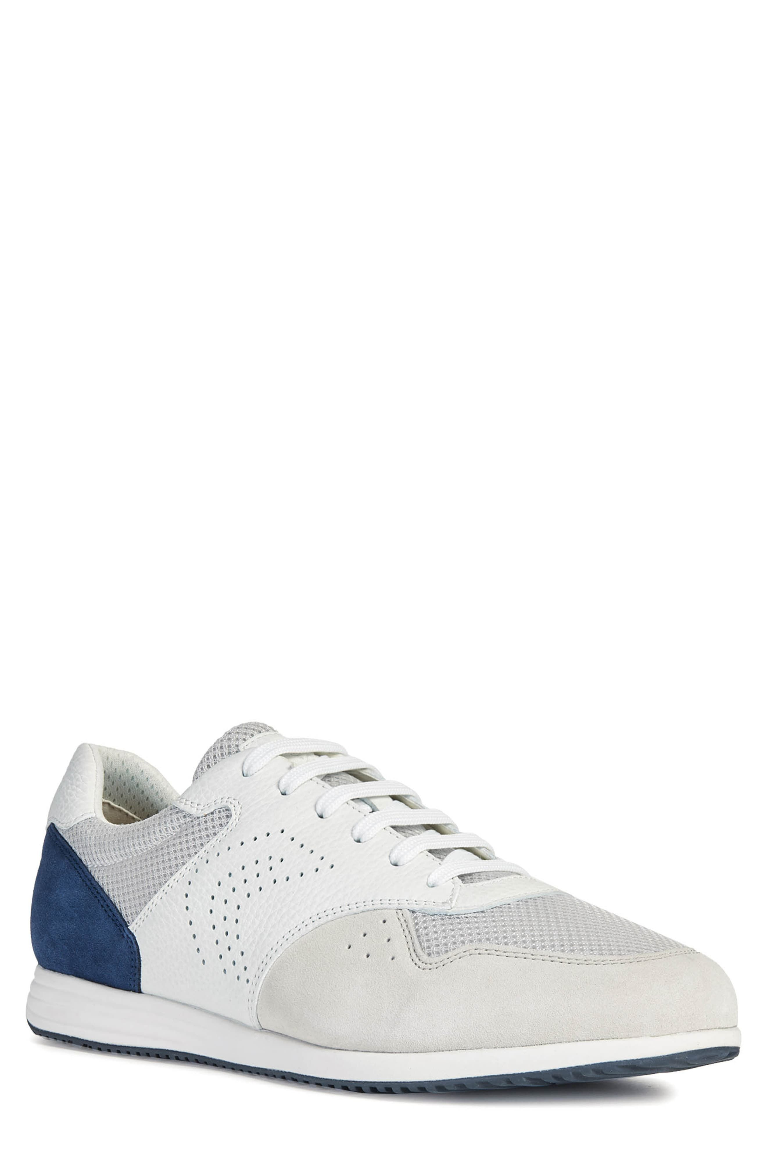 Details about Geox Mens Low Trainers Grey show original title