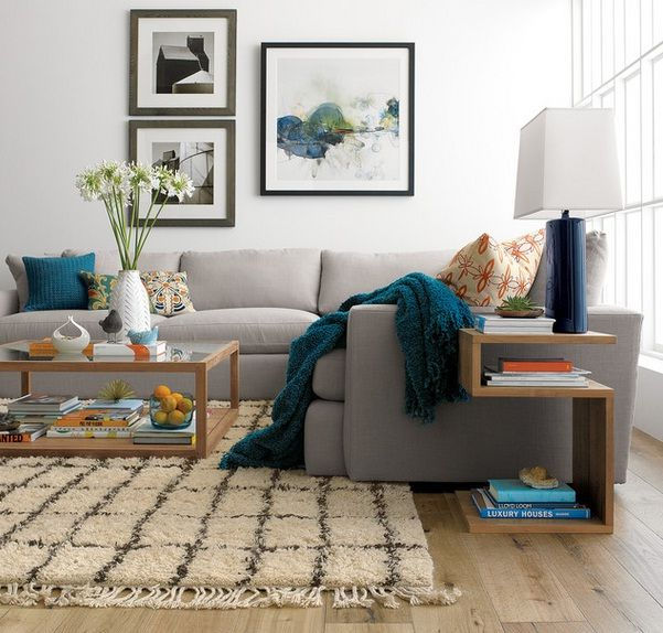 Decorating Rug Placement Under Sectional Sofa Jpg 601 574 Decor Home Decor Rug Placement
