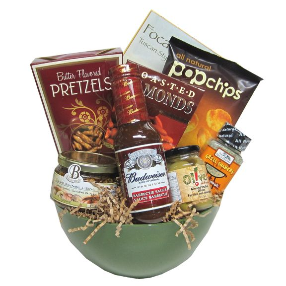Happy Fathers Day BBQ Gift Basket 90