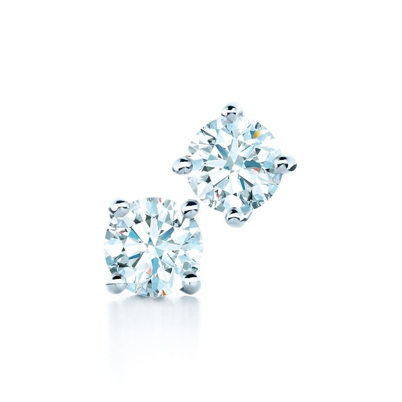 Tiffany Diamond Earrings Tiffanypinterest Solitaireearrings Diamondstuds Solitaire
