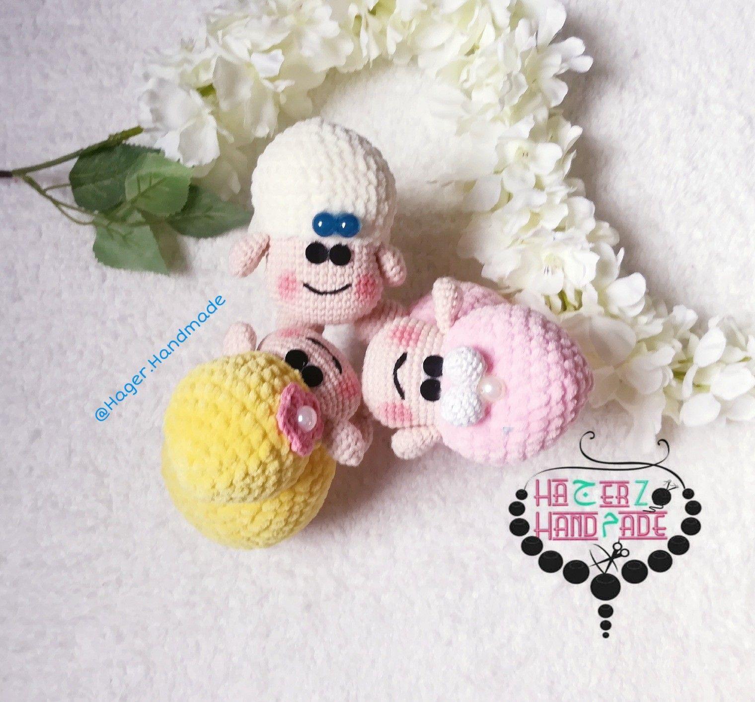 Crochet Amigurumi Sheep Handmade Shop Christmas Ornaments Handmade
