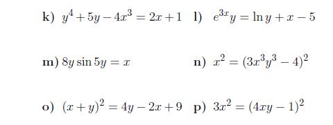 Implicit Differentiation Basic Algebra Worksheets Algebra Worksheets Math Worksheets