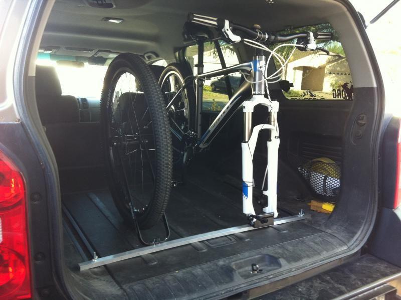 Nissan Xterra Interior Bike Rack Trailer Bike Bike