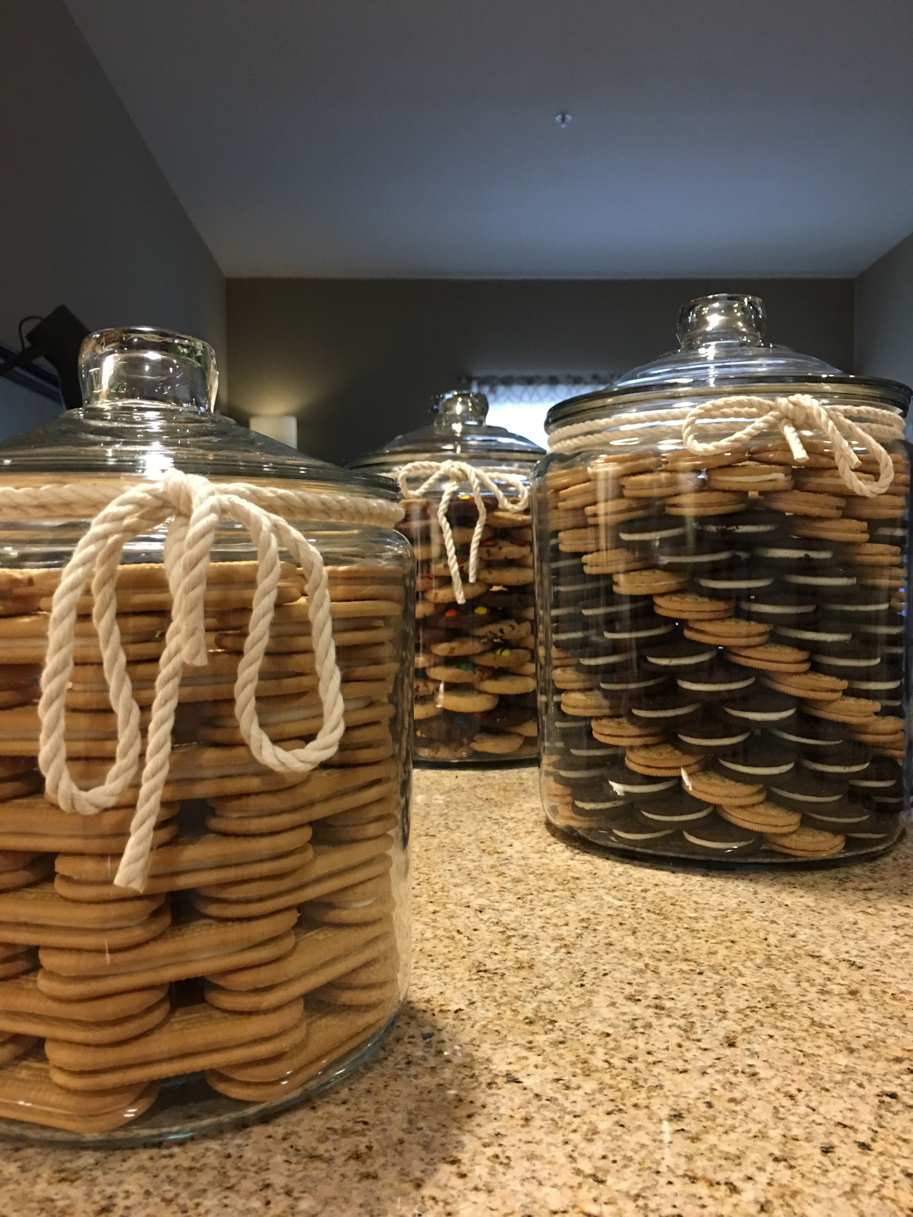Khloe Kardashian Inspired Cookie Jars But Slightly Modified By  #RogerChanDesign With Swirl Patterns In Cookies