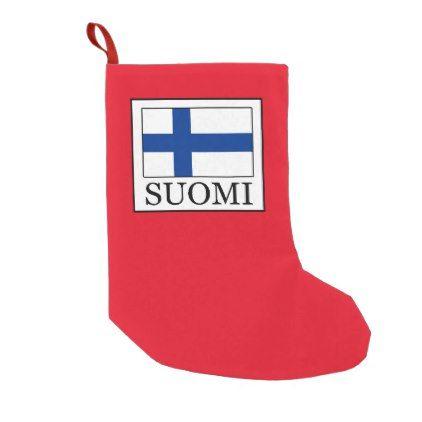 suomi small christmas stocking - Small Christmas Stockings