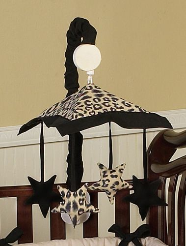 Animal Safari Leopard Musical Crib Mobile Baby Mobiles Pinterest