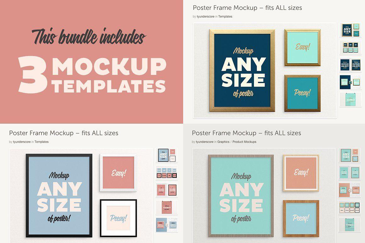 Poster Frame BUNDLE – Fits | Pinterest