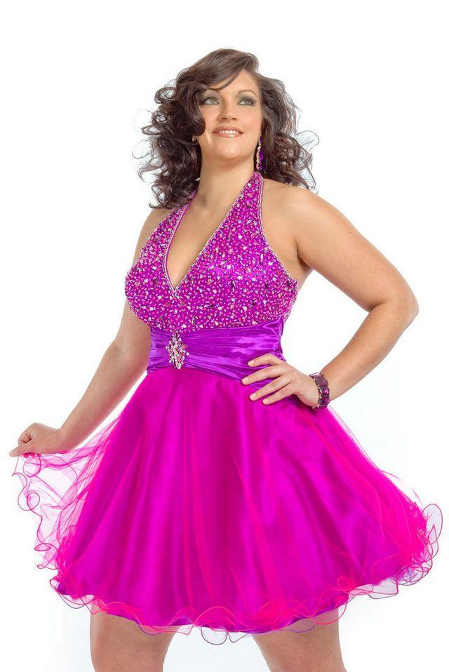 cutethickgirls.com pink plus size dresses 26 #plussizedresses   Plus ...
