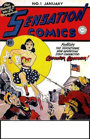 Wonder Woman Feminist Icon Of The 1940s Wonder Woman Comic Rare Comic Books First Wonder Woman