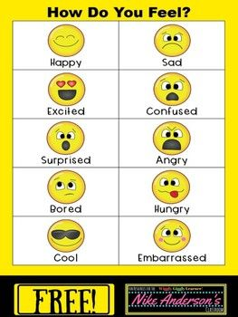 Free Printable How Do You Feel Emotions Chart Emotion Chart Emotion Chart Printable Feelings Chart