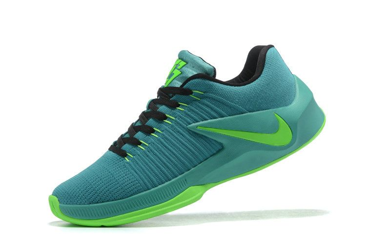 Free Shipping Only 69$ Nike Zoom Clear Out Low Draymond Green Shoes 2017  Brazil Green