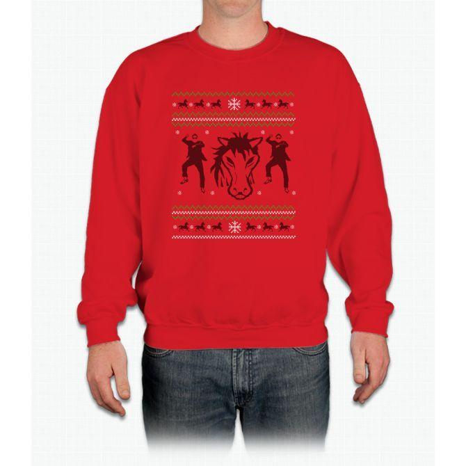El Caballo -navidad- Crewneck Sweatshirt