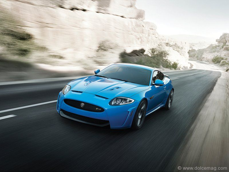 Sleek, sporty and striking, the XKRS is the most powerful