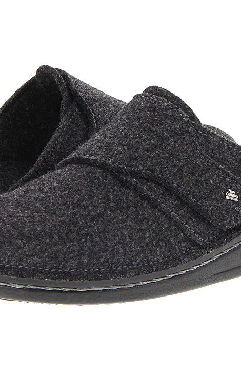 Finn Comfort Tirol 6500 (Anthrazit Wollfilz) Clog Shoes - Finn Comfort, Tirol  6500