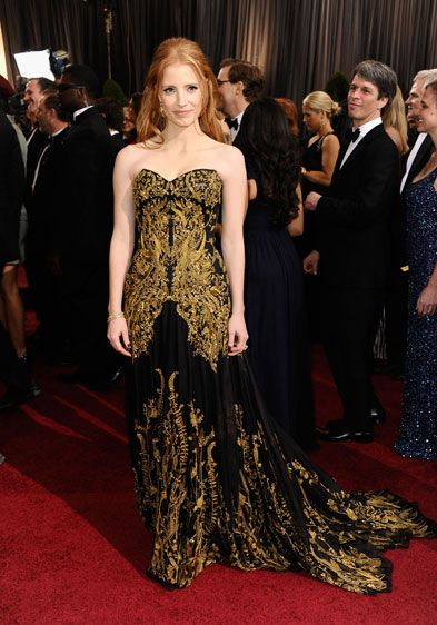 Maybe my favorite dress of the evening.