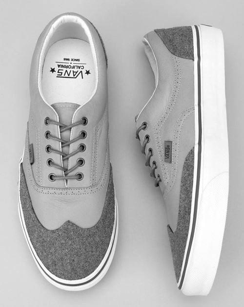 Vans Authentic Dark Grey Wool Shoe | Shoes, Wool shoes, Grey