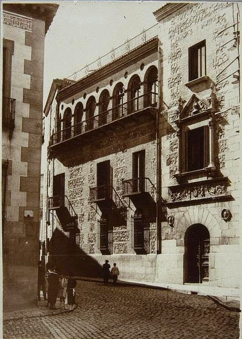 Casa cisneros en 1930 madrid c mo era madrid pinterest cisneros madrid y fotos antiguas - Casas singulares madrid ...