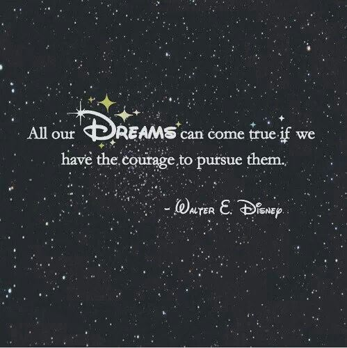 A Walt Disney Quote