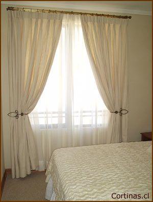 Cortinas dobles las cortinas tradicionales como tal son for Cortinas clasicas elegantes