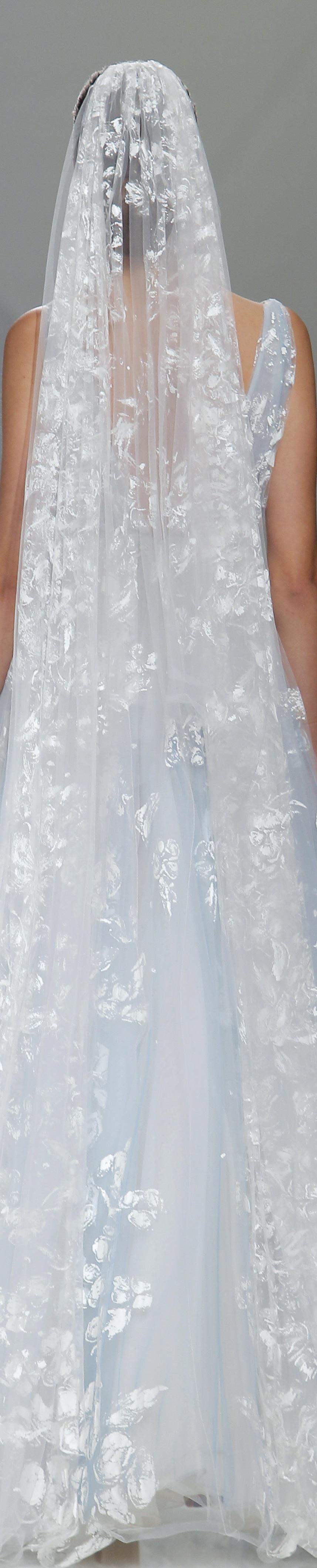 Naeem Khan Bridal- Barcelona Bridal Fashion Week | White fashion ...