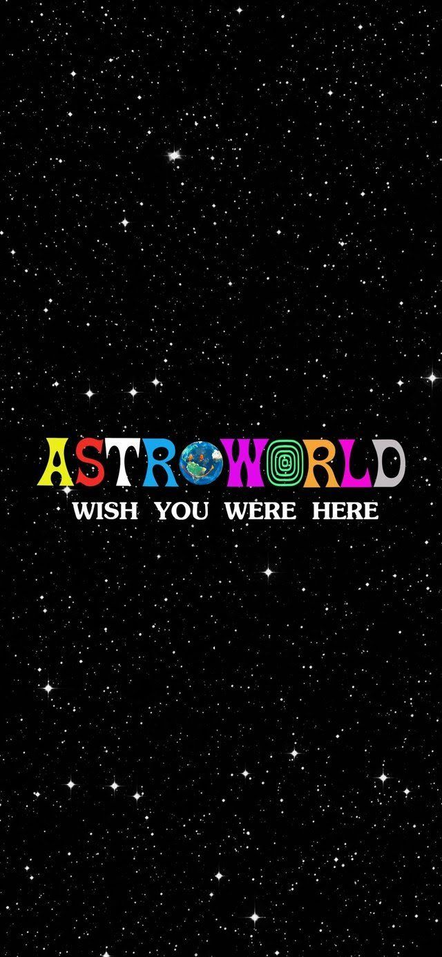 Reddit , travisscott , [Image] Astroworld iPhone X Wallpaper