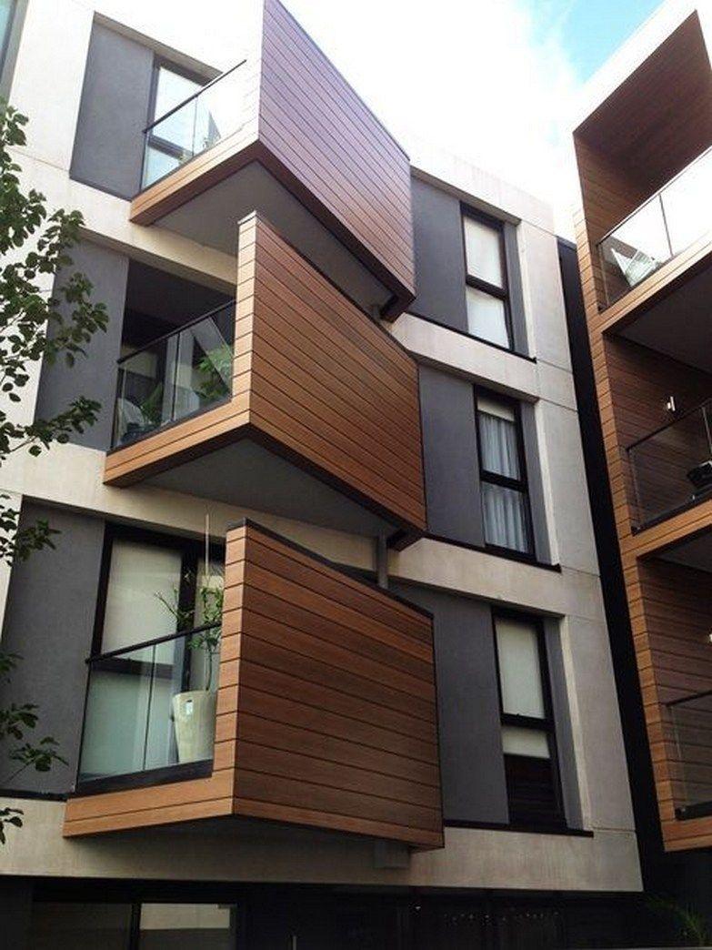 45 Inspiring Modern House Design Ideas 1 Homezideas Com In 2020 Modern Architecture Building Architecture Building Design Facade Architecture