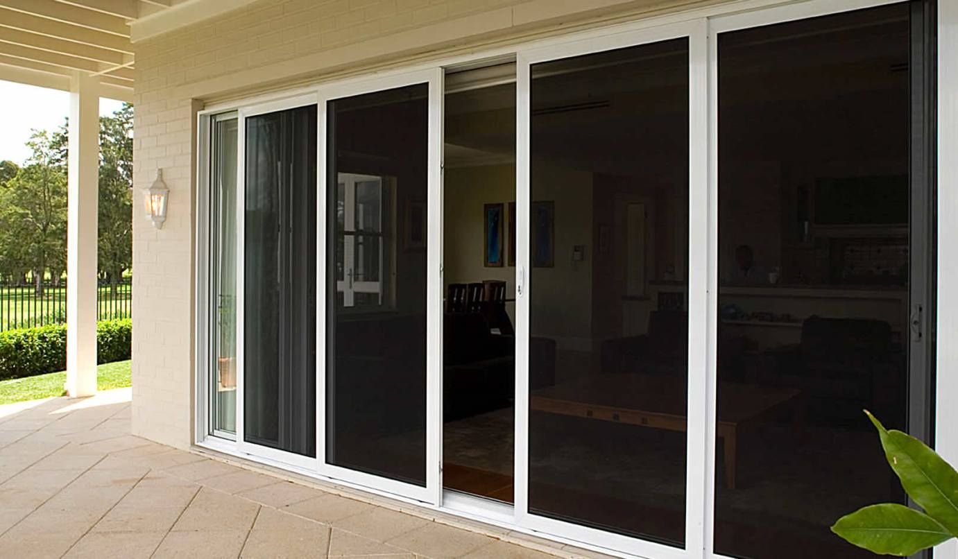 Strong And Versatile Security Sliding Doors Security Screen Door Sliding Screen Doors French Doors